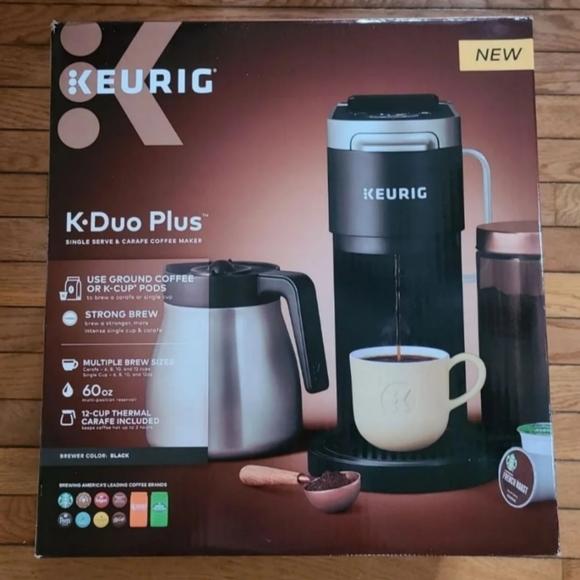 Keurig - K-Duo Plus 12-Cup Coffee Maker